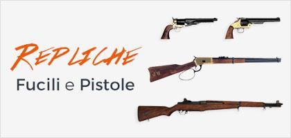 Repliche di fucili e pistole